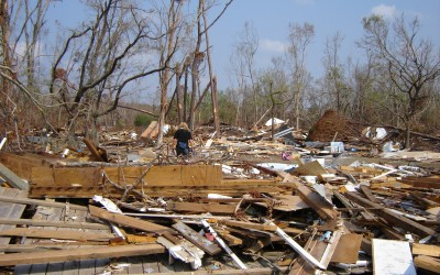Inzet in Amerika na de Hurricane Katrina (29 augustus 2005)