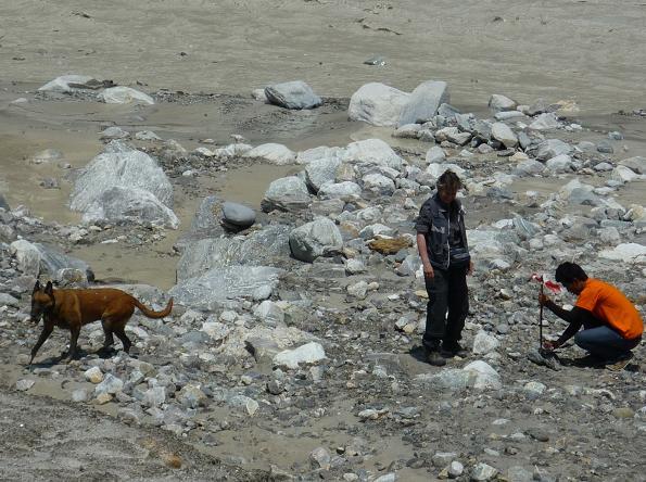 Inzet na de modderstromen in Nepal (17 mei 2012-22 mei 2012)