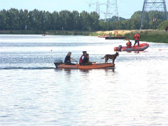 Vermiste jongen Maasbracht (zondag 13 augustus 2006)