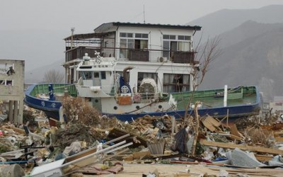 Inzet na de zeebeving met tsunami in Japan (11 maart 2011)
